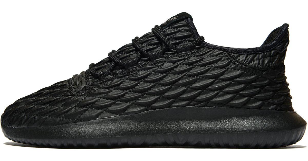Adidas Originals Black Tubular Shadow Lux for Men Lyst
