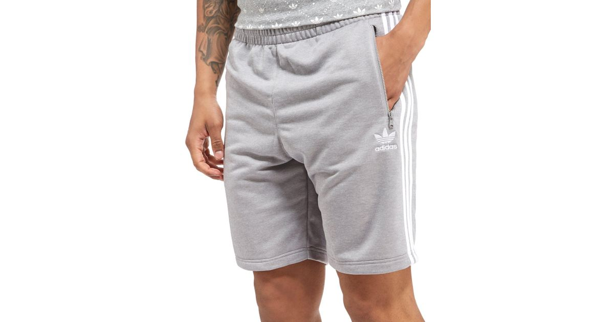 the latest 08883 8b724 Adidas Originals Gray Superstar Shorts for men