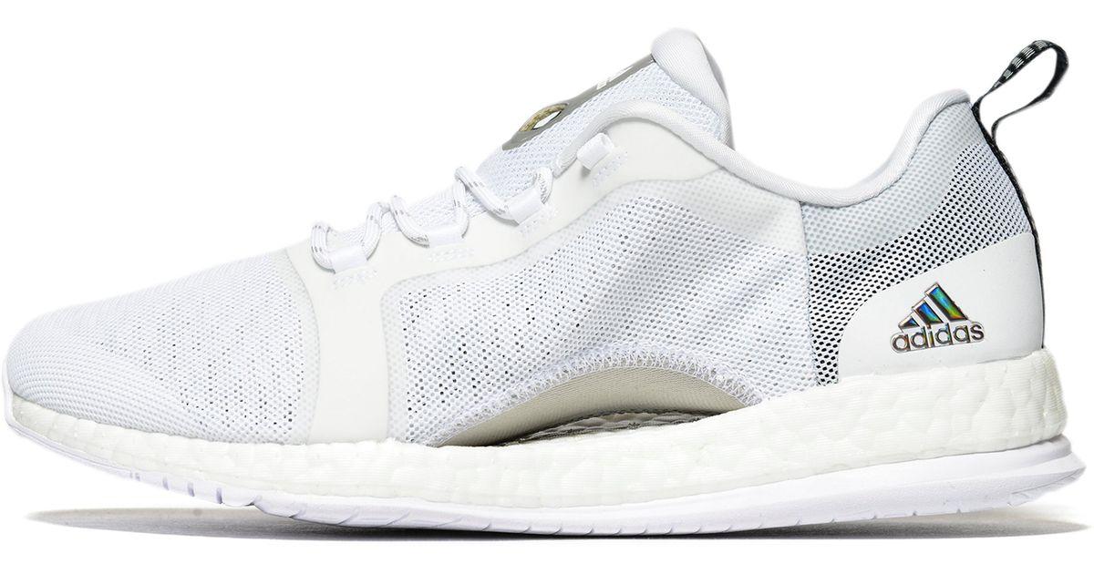 e3e2dc13c79 Adidas Pure Boost X Trainer 2.0 in White for Men - Lyst