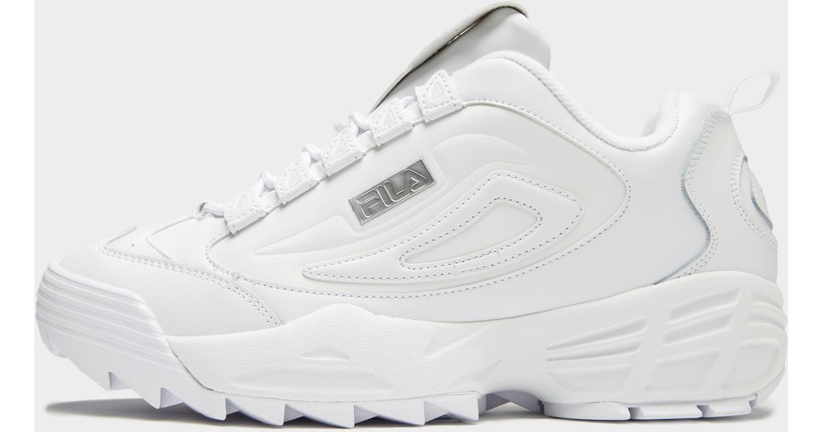 Fila Leather Disruptor 3 in White for