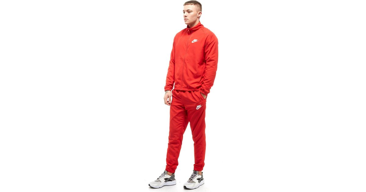 f9e1b0613 Nike Season 2 Woven Tracksuit in Red for Men - Lyst