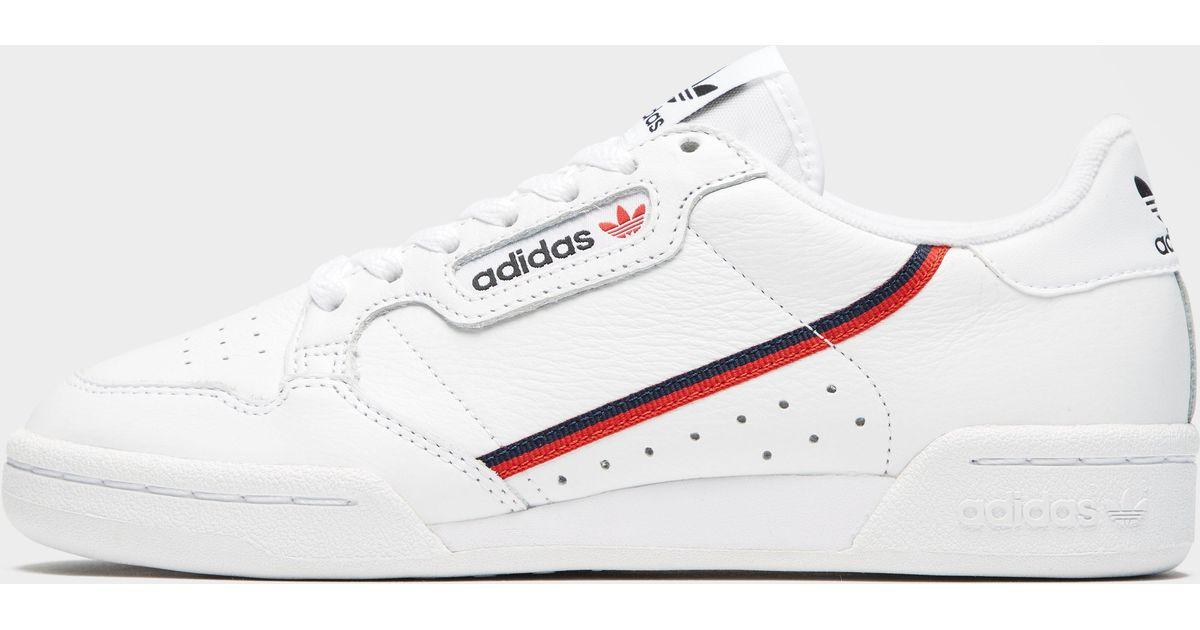 b122714b616 Lyst - adidas Originals Continental 80 in White