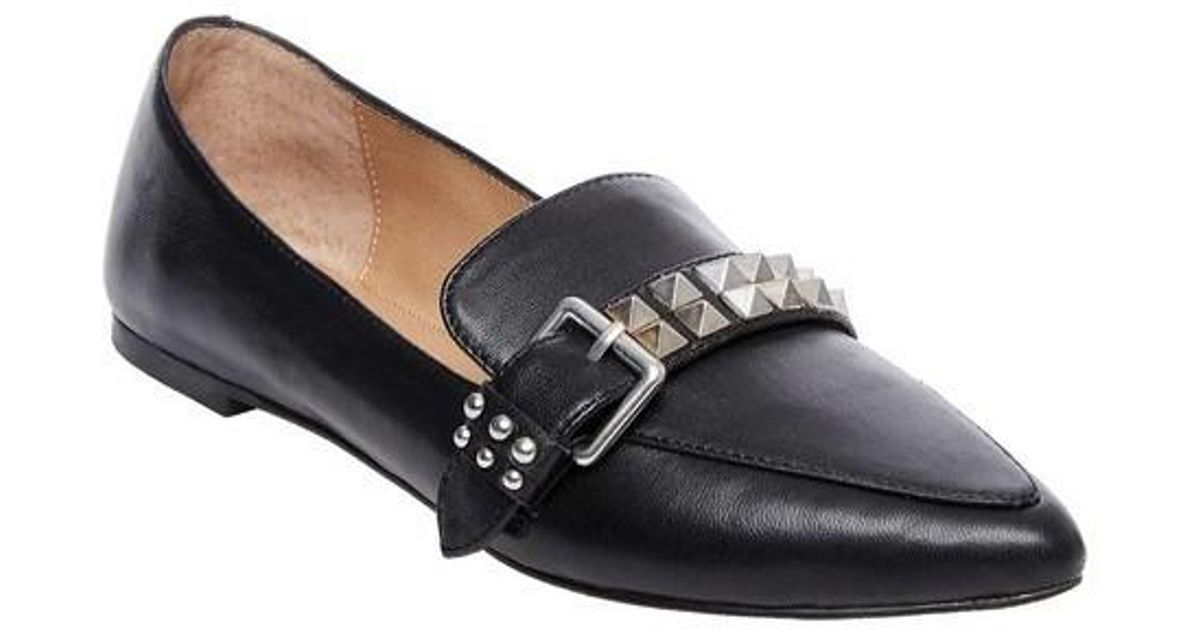 a5c6d3093b7 Lyst - Steve Madden Fire Loafer in Black