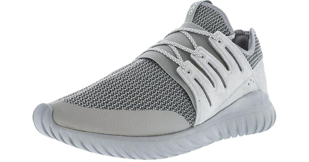 68c1cf50f576 Lyst - adidas Tubular Radial Gray Sneakers in Gray for Men