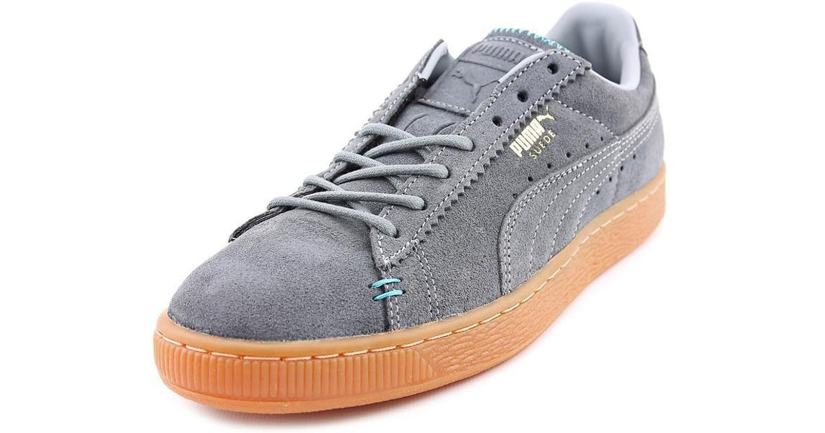 Lyst - Puma Suede Classic Crafted Men Us 8 Gray Sneakers for Men 425e0c60d85b