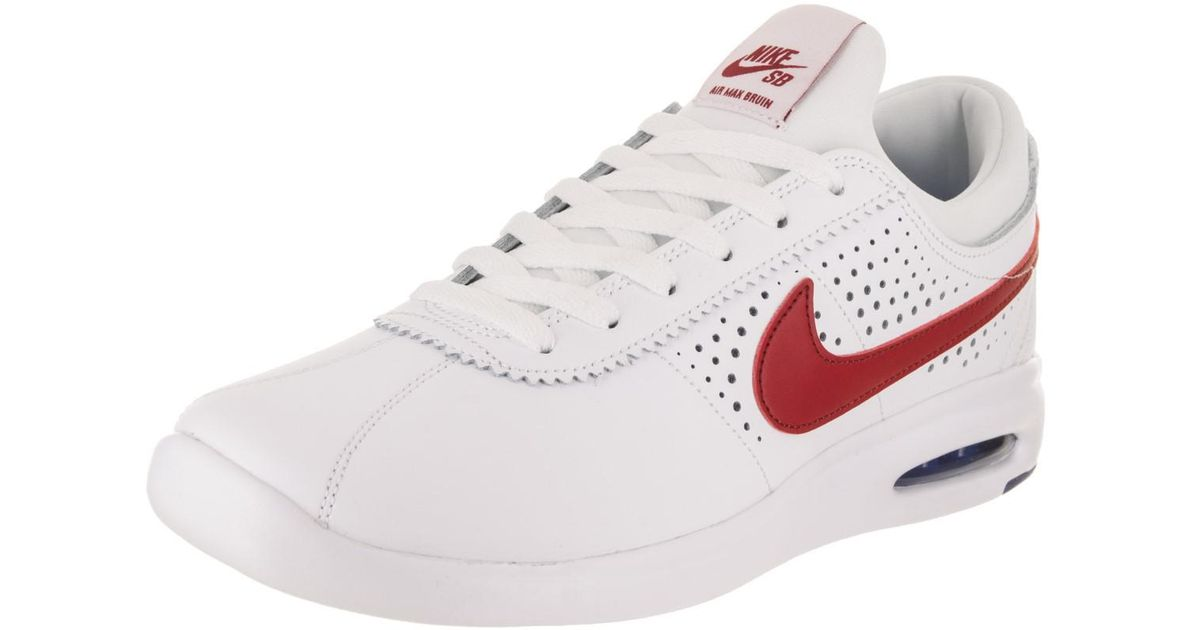 2473986c08e Lyst - Nike Sb Air Max Bruin Vapor Skate Shoe 13 Us in White for Men