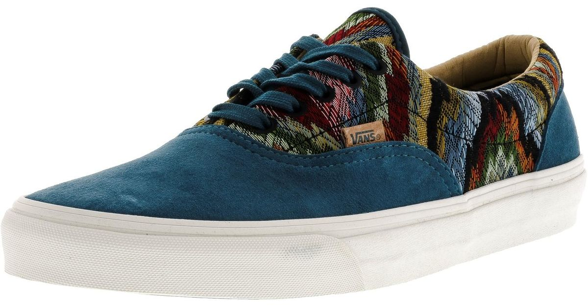 cbc6d4ca7f Lyst - Vans Era Ca Italian Weave And Pig Suede Ankle-high Skateboarding  Shoe - 11m in Blue for Men