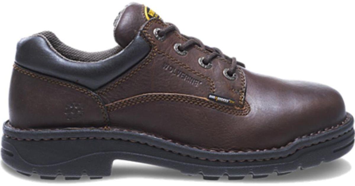 a761a642896 Wolverine - Multicolor W04373 Mens Exert Durashocks® Steel-toe Opanka  Oxford Work Shoe 7d (m) Us for Men - Lyst