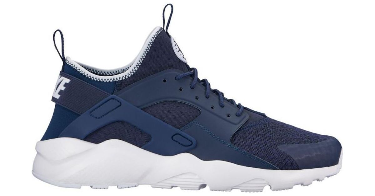the best attitude 5a5a8 5dd0d ... spain lyst nike air huarache run ultra midnight navy obsidian white running  shoe 10 men us
