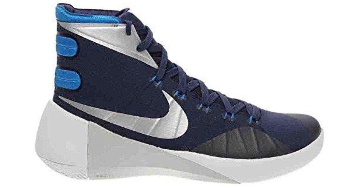 41258cc9d41a Lyst - Nike Hyperdunk 2015 Tb Basketball Shoes 749645-405 in Blue for Men