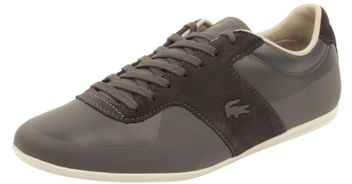 Men Lyst Mens Dark 8 Sneakers 316 Grey In Gray Us Lacoste Turnier For wPOXiTZukl