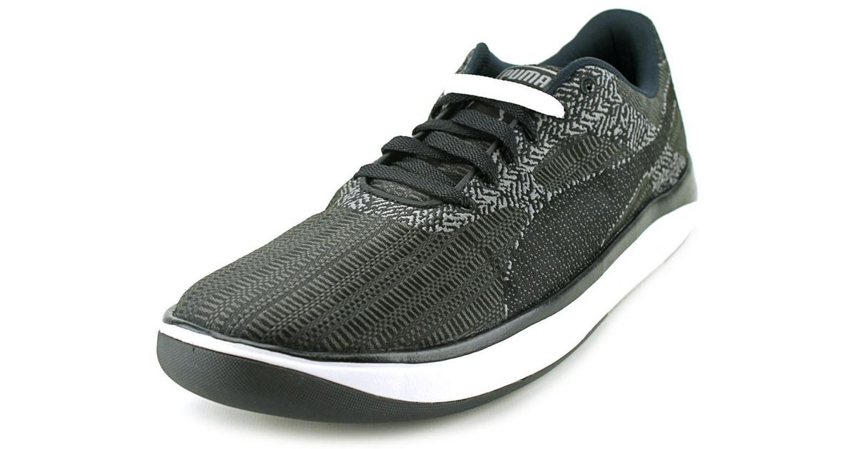 Lyst - PUMA Gv 500 Woven Mesh Round Toe Synthetic Sneakers in Black for Men  - Save 26% 7266454b2