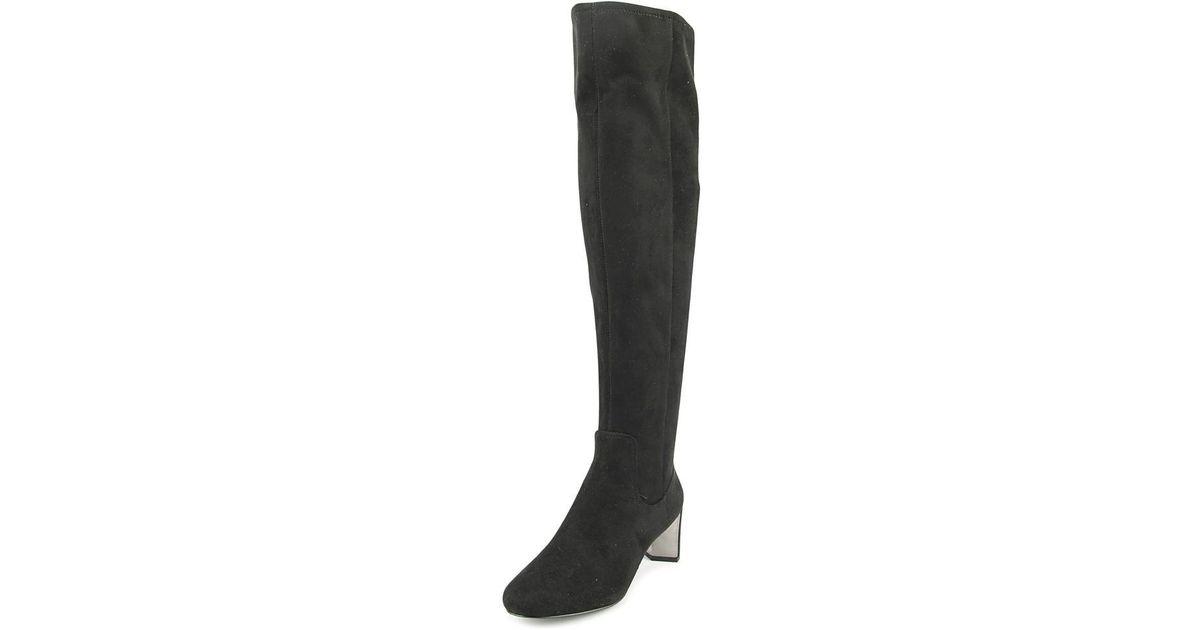 044b0890bda Lyst - Nine West Filmar Women Us 8.5 Black Over The Knee Boot in Black