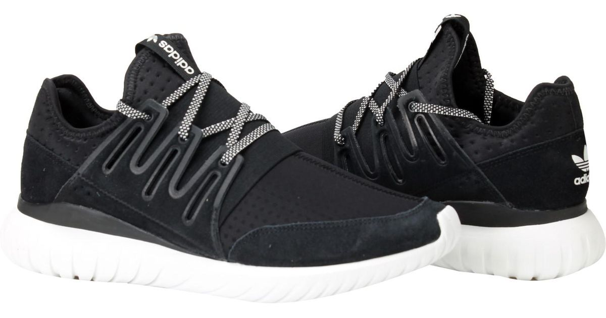 super popular f644c 84cc0 Lyst - adidas Originals Tubular Radial Running Shoes Size 11.5 in Black for  Men