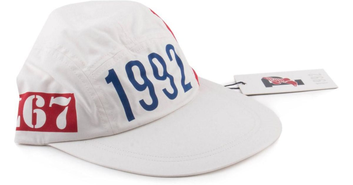 Lyst - Polo Ralph Lauren Ralph Lauren Polo Stadium Collection 1992 P-wing  Off White Hat Limited Sold Out in White for Men cb41bbd94ad