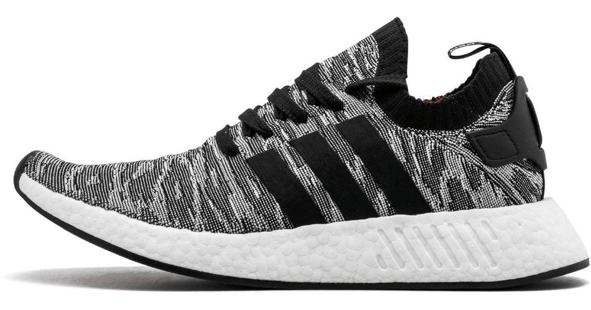 d47aaccec Lyst - adidas Nmd r2 Primeknit Shoes in Black