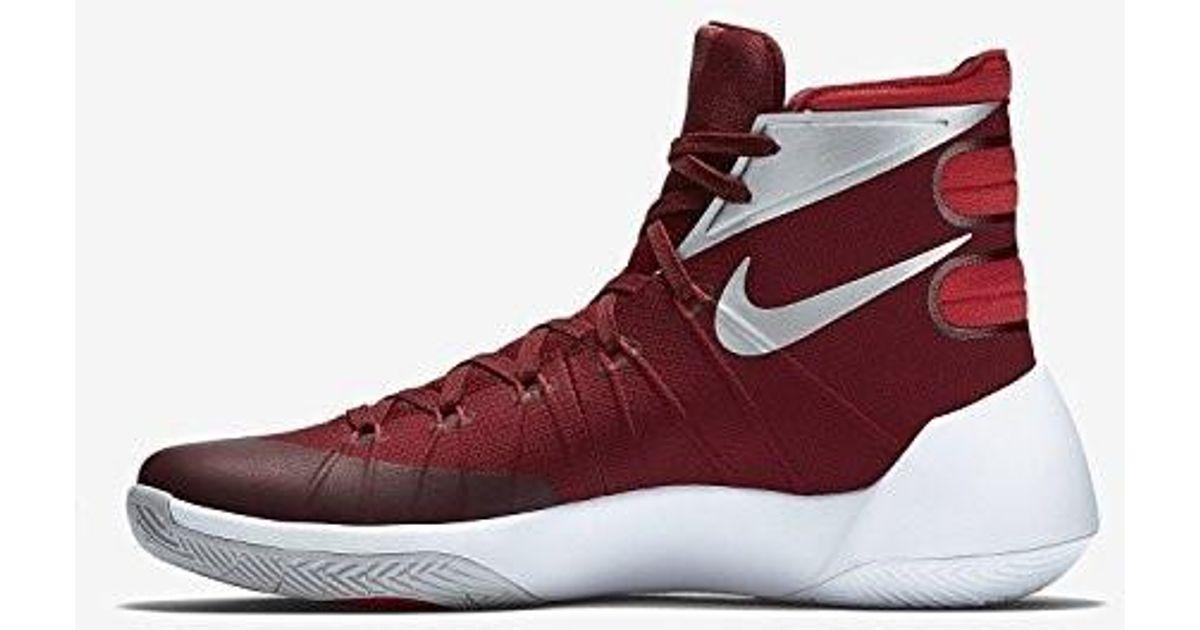 9378ca0e4d17 Lyst - Nike Hyperdunk 2015 Tb Basketball Shoe in Red for Men
