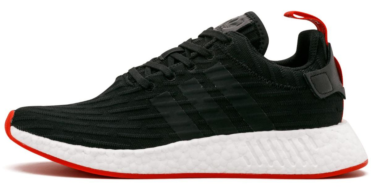 sports shoes 8cccb 51c7b Adidas - Black Nmd_r2 Primeknit Shoes for Men - Lyst