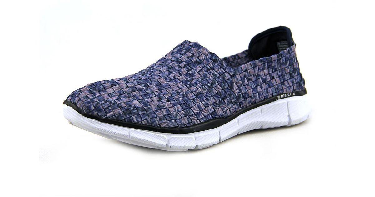 80aeb205f3e8 Lyst - Skechers Equalizer Vivid Dream Women Us 7 Blue Sneakers Uk 4 Eu 37  in Blue