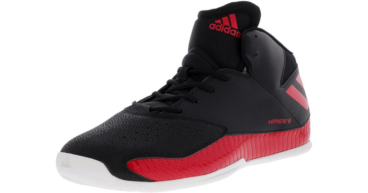 3c40e1c164b Lyst - adidas Next Level Speed V Scarlet   Core Black Footwear White  Ankle-high Basketball Shoe - 11.5m in Black for Men
