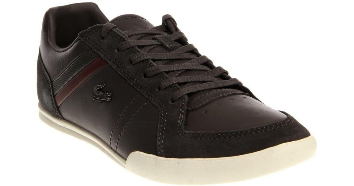 c1629e58e87e4 Lyst - Lacoste Figuera 3 Srm Casual Shoe 11 Us in Black for Men