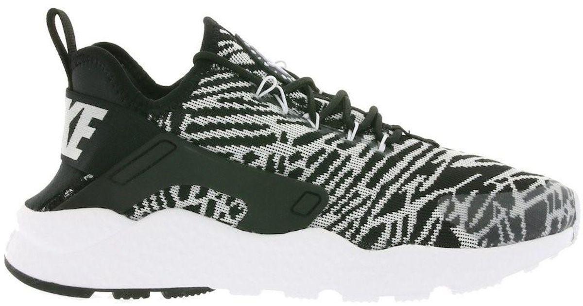 a55d165af7570 ... reduced lyst nike air huarache run ultra jacquard running shoe in black  for men 2a19d 725aa