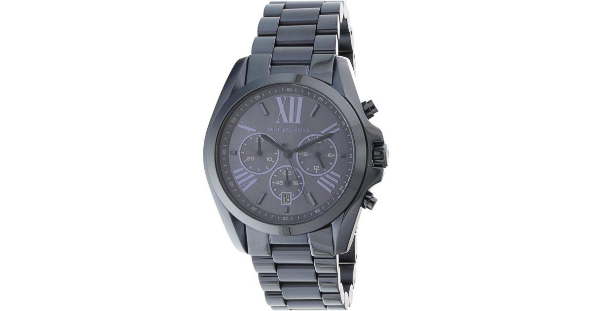 8faa77061e25 Lyst - Michael Kors Oversized Bradshaw Chronograph Watch Mk6248 for Men