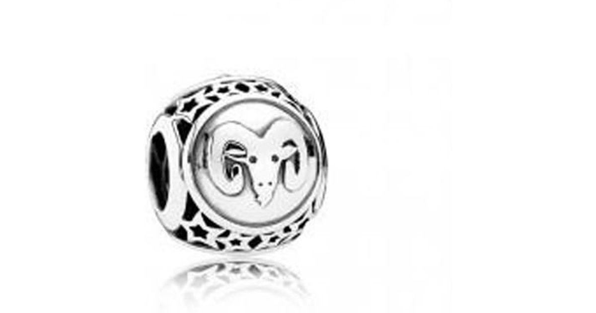 8cf930ddc Lyst - PANDORA 791936 Aries Silver Charm