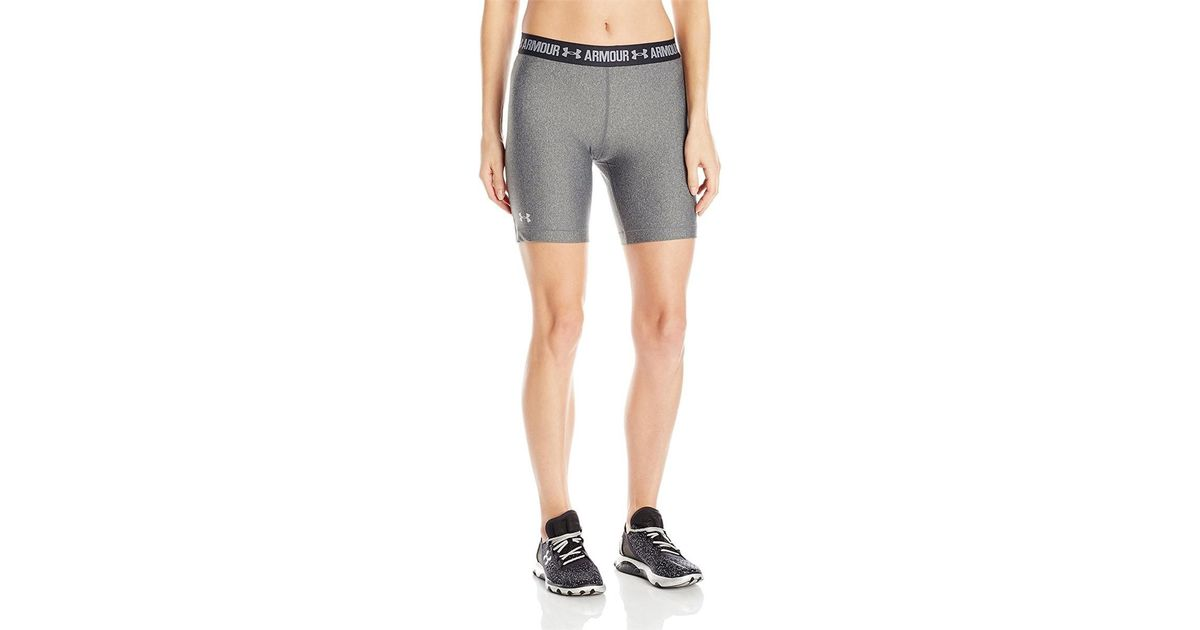 classic styles top-rated original new products Under Armour - Gray Ua Heatgear 7 Inch Compression Shorts - Xs - Grey for  Men - Lyst