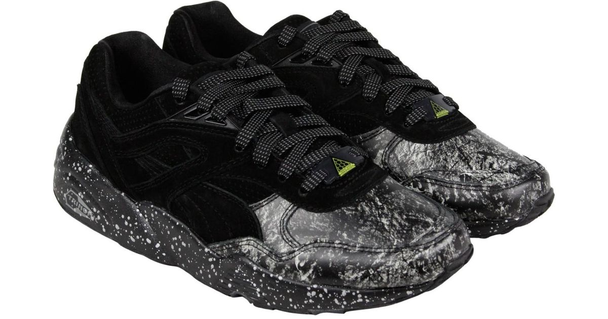 100% authentic 58207 104d3 Lyst - PUMA R698 Roxx Black Dark Shadow Mens Lace Up Sneakers in Black for  Men
