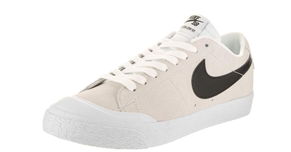new product 5267b d0118 Lyst - Nike Sb Blazer Zoom Low Xt Summit Whiteblackwhite Skate Shoe 9 Men  Us in White for Men