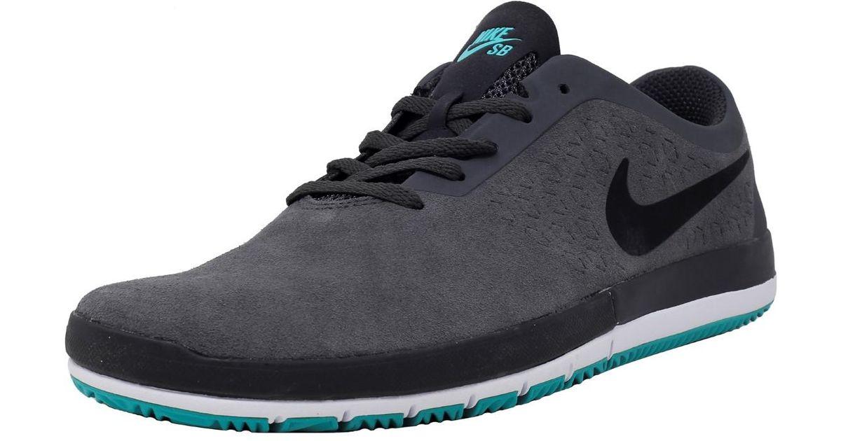 ad5f255e57de0 Lyst - Nike Free Sb Nano Dark Grey   Black Light Retro White Ankle-high  Skateboarding Shoe - 11m in Black for Men