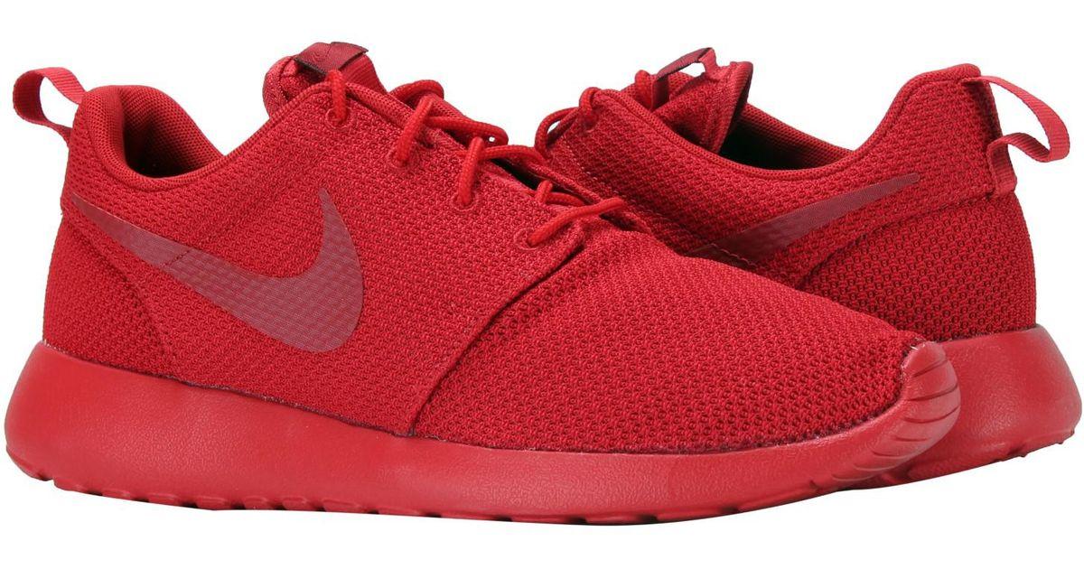 Energian Saasto-These Nike Roshe One Varsity Red