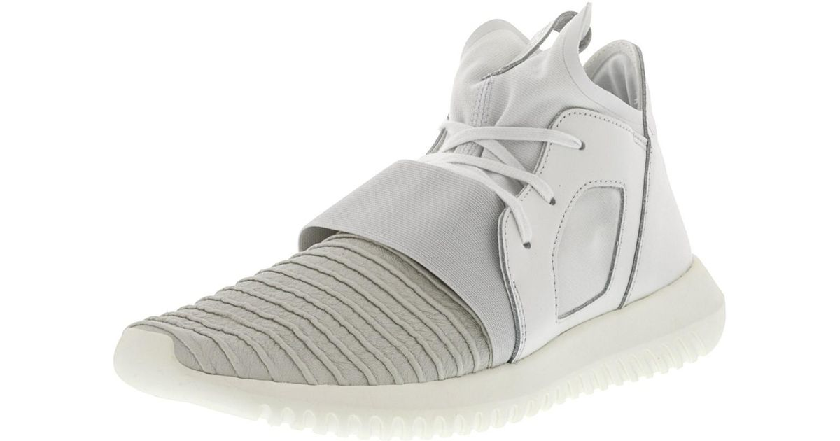 sale retailer 41449 c0556 Lyst - adidas Tubular Defiant White   Off Ankle-high Fashion Sneaker - 9.5m  in White