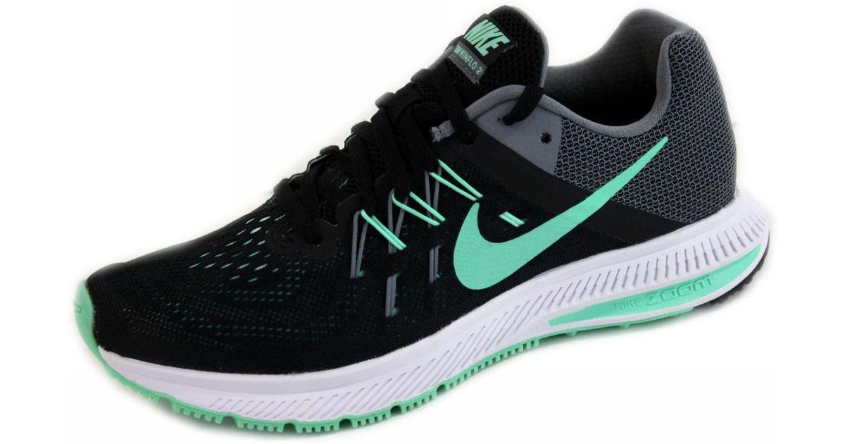 cc881dc2b0ca1 Lyst - Nike Zoom Winflo 2 Running Sneakers in Black