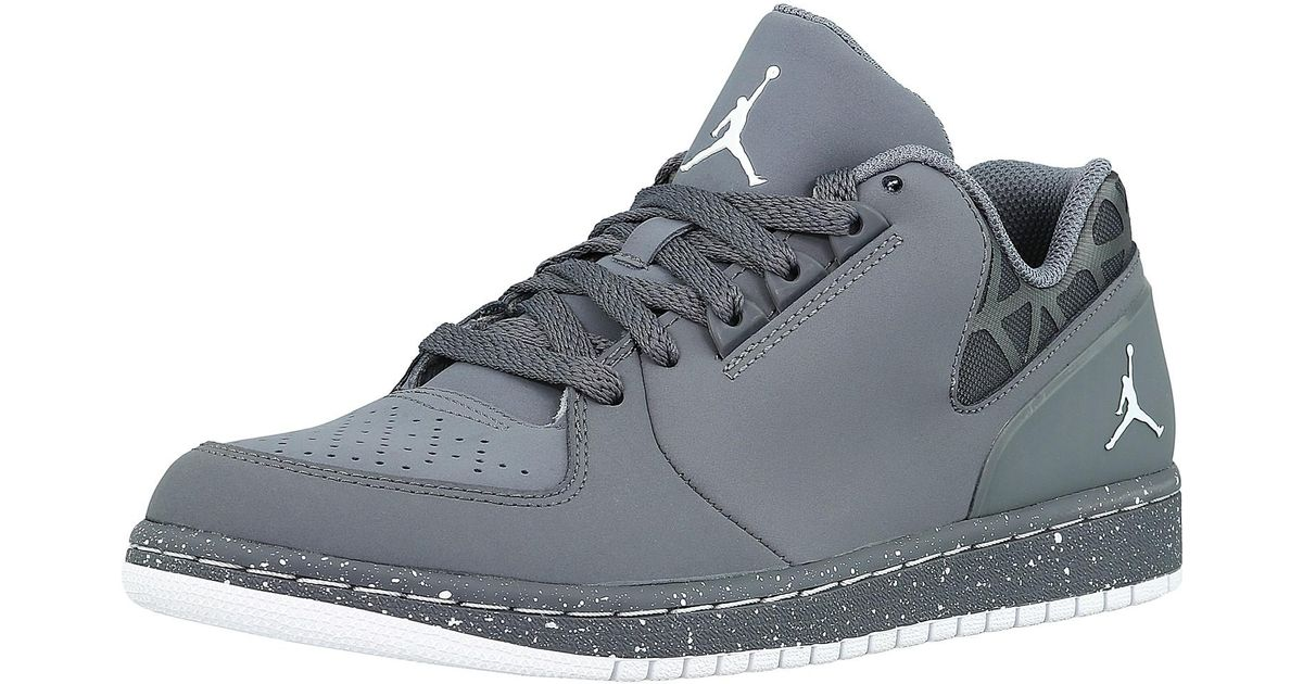 on sale 93a20 6d60c Nike Jordan 1 Flight 3 Low Prem Ankle-high Leather Fashion Sneaker - 8m in  Gray for Men - Lyst