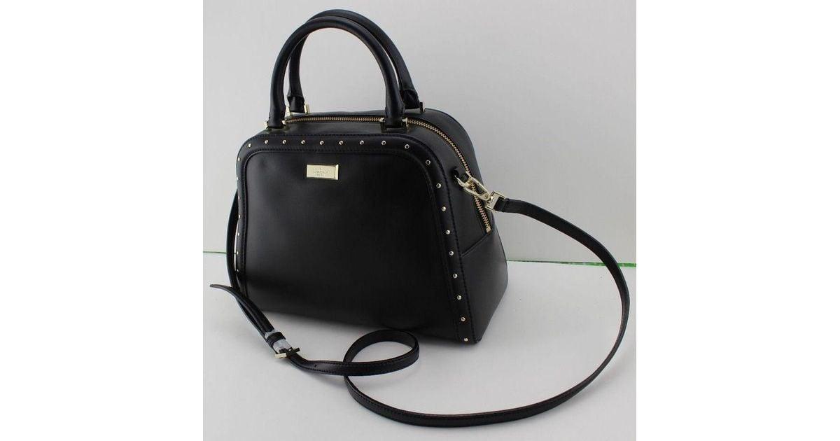 30ba7e4fe787b6 Kate Spade New Authentic Kate Spade Rocki Helena Street Black Handbag  Wkru3559 Satchel in Black - Lyst