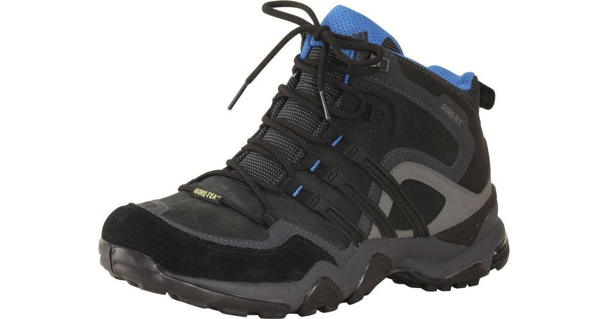 Lyst adidas originali outdoor trans - x metà gtx scarpone da montagna in nero