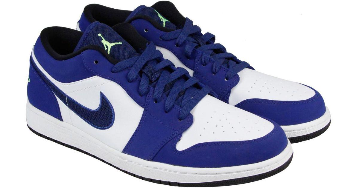 39621 Blue Get Low Nike Air Jordan 1 52dae f6gYb7y