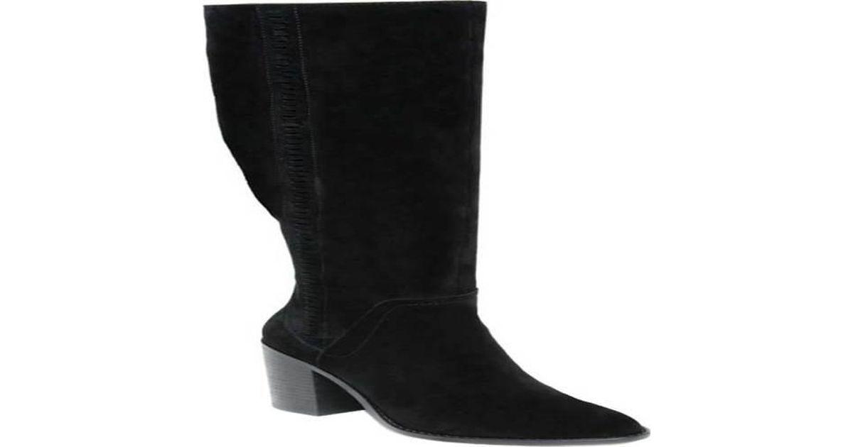 709b0625ecd Lyst - Steve Madden Roxana Knee High Boot in Black