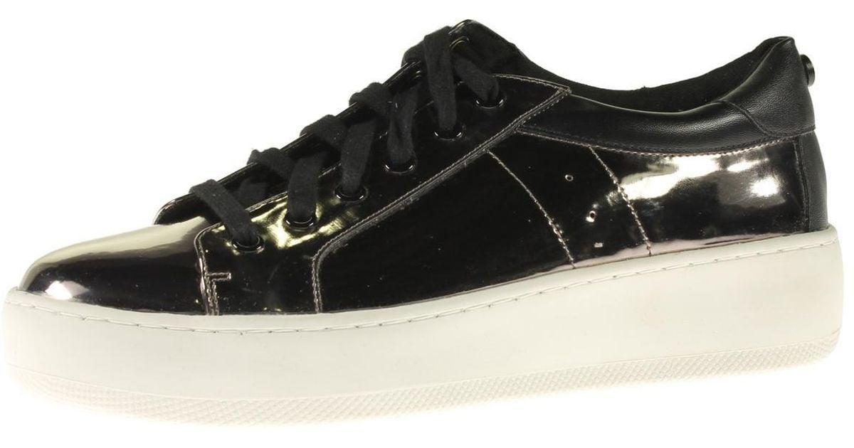 b8bcf8efce2 Lyst - Steve Madden Bertie-m Patent Platform Fashion Sneakers in Black