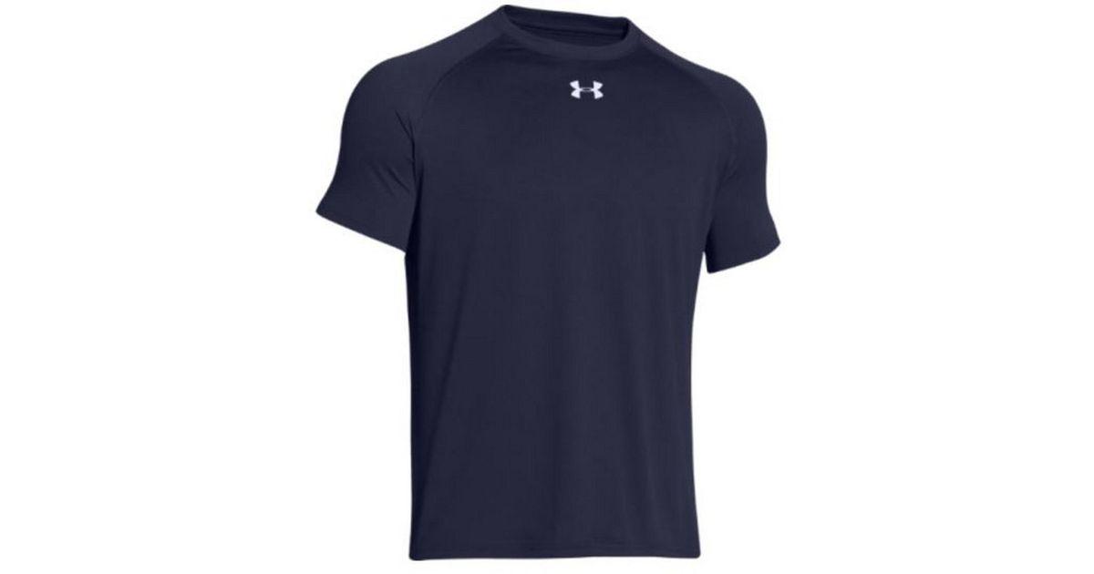 ecee22fa44ec Lyst - Under Armour Locker T-shirt Tee Ua Short Sleeve Jersey Tshirt (navy  in Blue for Men