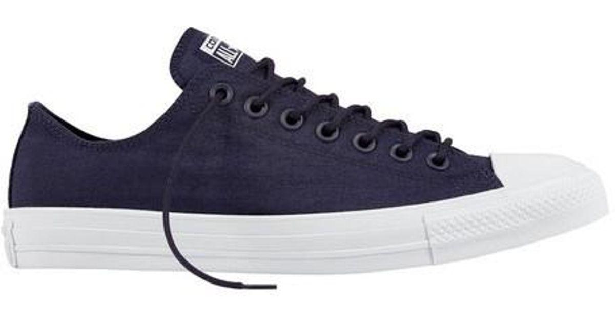 6bcab9b555a Lyst - Converse Unisex Chuck Taylor All Star Cordura Ox Sneaker in Blue