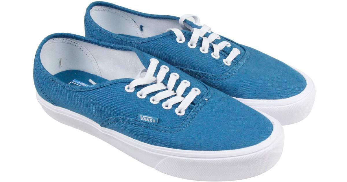 d856618a58 Lyst - Vans Authentic Lite Larkspur White Mens Lace Up Sneakers in Blue for  Men