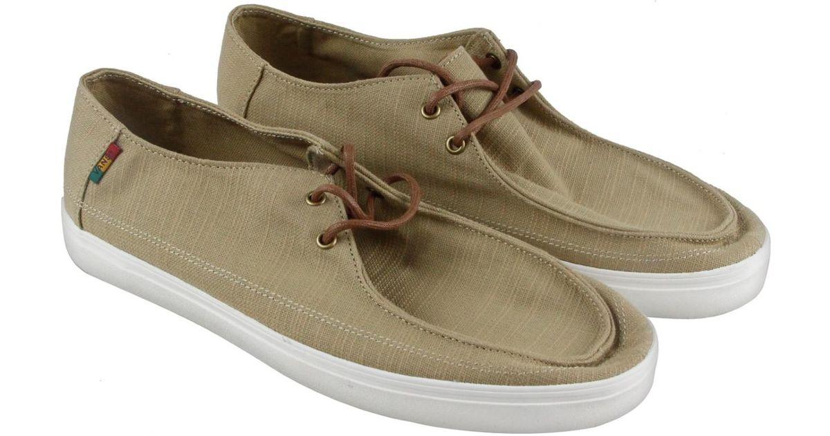 2c08119d84 Lyst - Vans Rata Vulc Sf Khaki Rasta Casual Dress Boat Shoes for Men
