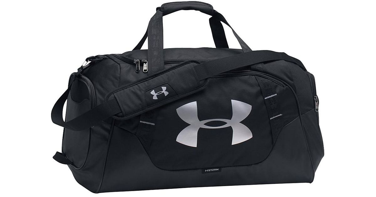 Lyst - Under Armour Undeniable Medium Duffle 3.0 in Black for Men 47d0cfff97be2