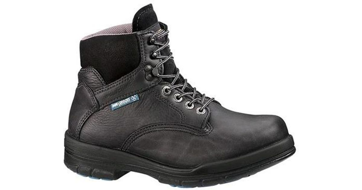 52e9621f51f Wolverine - Black Durashock Sr Boot 6' for Men - Lyst