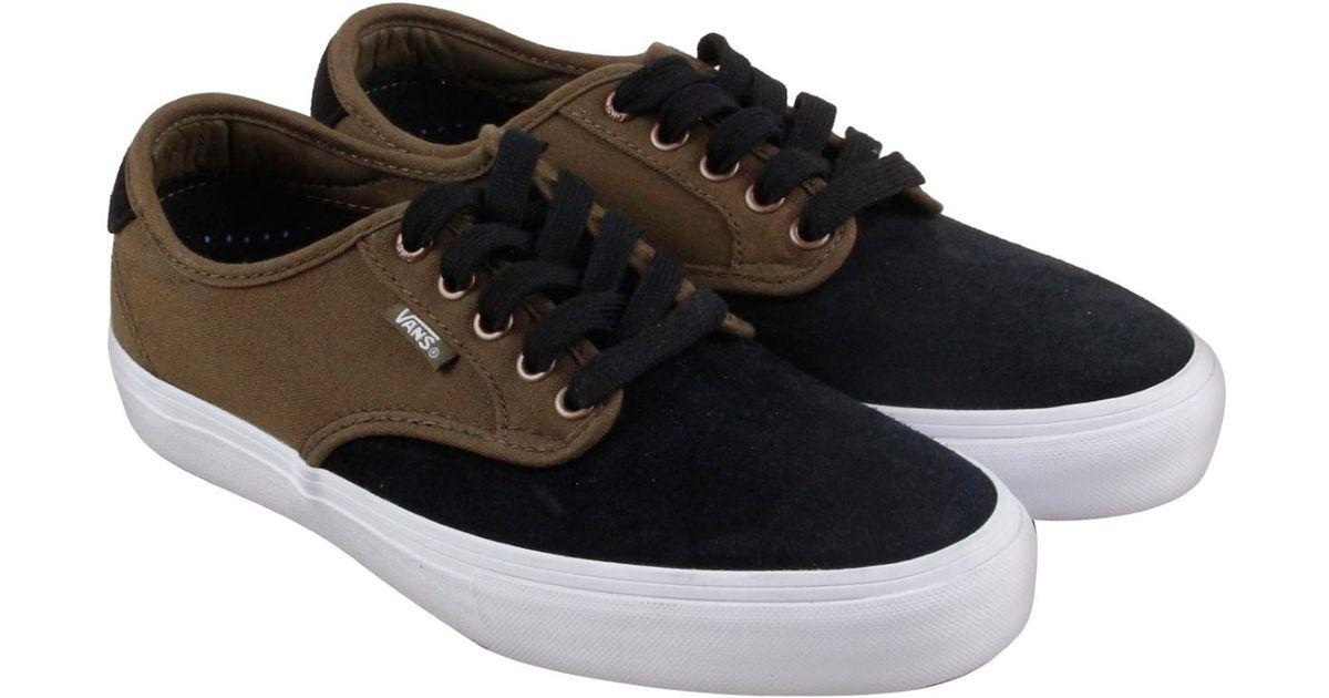 2f373850d7 Lyst - Vans Chima Ferguson Pro Teak Lace Up Sneakers in Black for Men