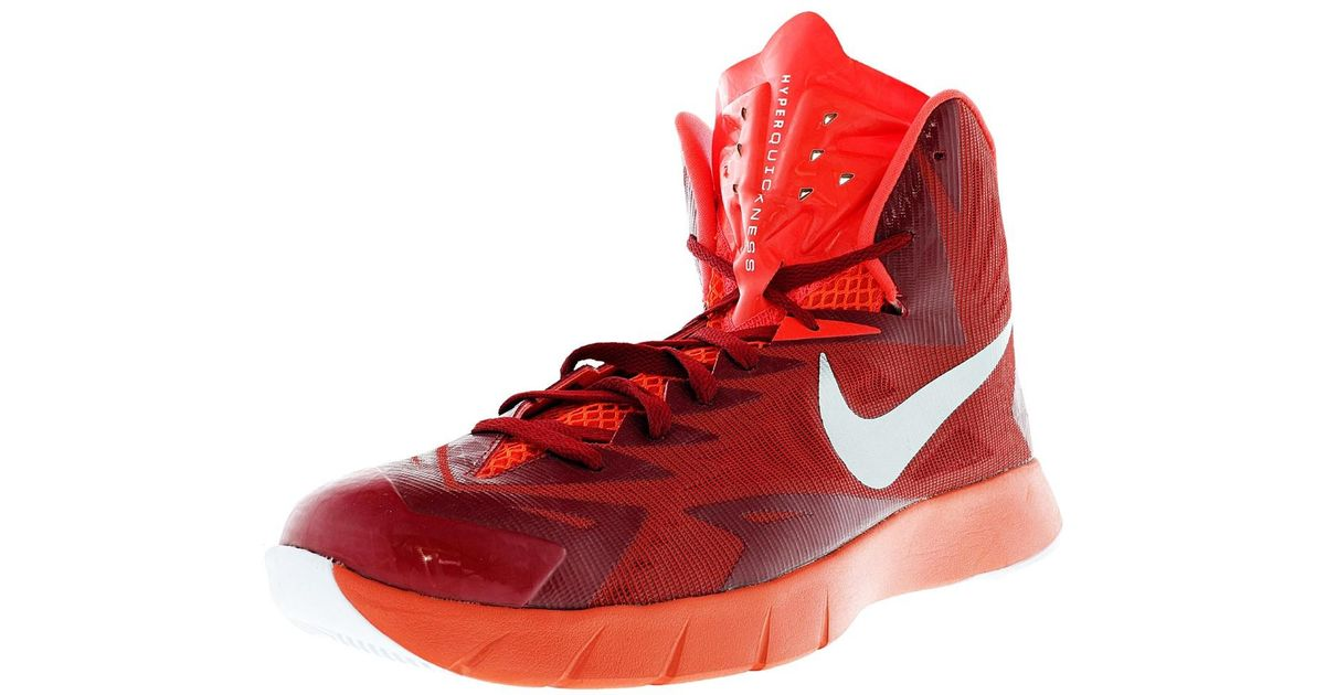 finest selection e783d 5d959 ... Lyst - Nike Lunar Hyperquickness Tb .5 Red Basketball Shoe.5 in Red for  ...