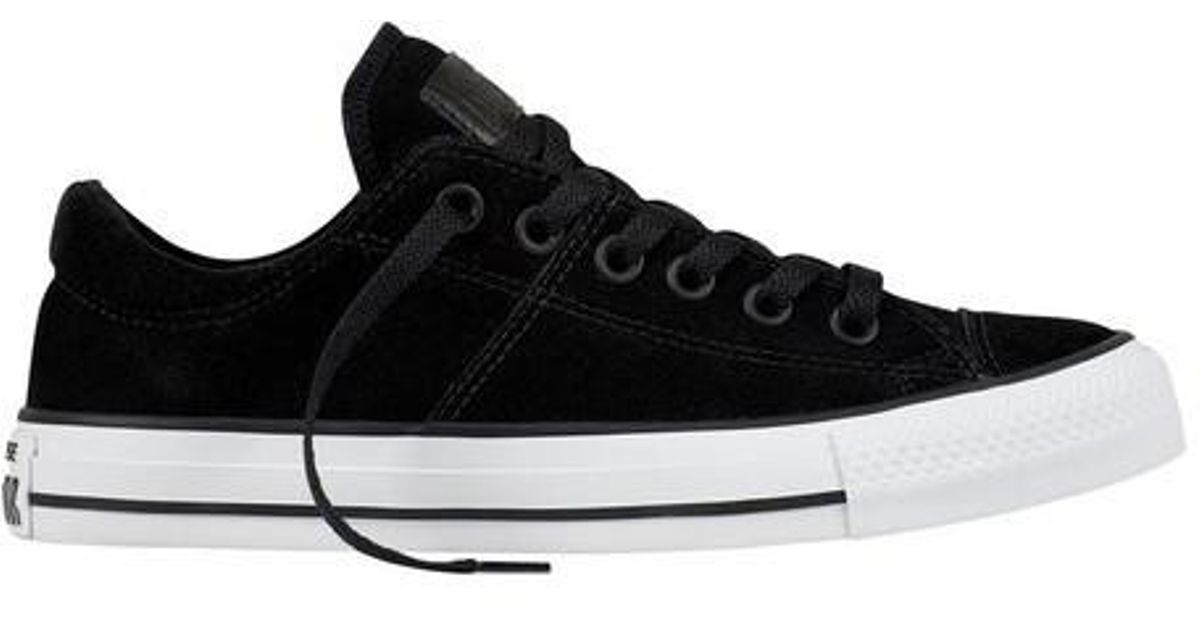 96b00fe3e86c Lyst - Converse Chuck Taylor All Star Madison Suede in Black for Men